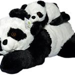 Super-Soft-Giant-Panda-Bears-Stuffed-Animals-Set-by-Exceptional-Home-Zoo-18-Pandas-with-Baby-Teddy-Bear-Cub-Kids-Toys-Plush-Animal-Gifts-Children-Give-Happiness-0