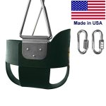 Swing-N-Play-High-Back-Full-Bucket-Swing-with-Coated-Chain-and-2-Snap-Hooks-0-1