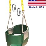 Swing-N-Play-High-Back-Full-Bucket-Swing-with-Coated-Chain-and-2-Snap-Hooks-0-2