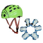 SymbolLife-Skateboard-Helmet-Protection-Gear-Set-Knee-and-Elbow-Pads-with-Wrist-Guards-for-Kids-Outdoor-Multi-sports-Cycling-Rollerblading-inline-Skating-Skateboard-Baseball-Bike-BMX-0-0