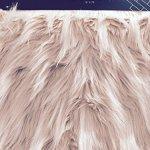 Tahari-Mauve-Pink-Faux-Fur-Table-Mantle-Runner-X-Long-16-x-72-0