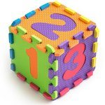 Teeny-Toyz-Large-Foam-Puzzle-Play-Mat-36-Tiles-Entire-Alphabet-Numbers-0-9-Pop-Out-NumbersLetters-on-Every-Tile-Inter-Locking-Pieces-with-Zippered-Carry-Bag-0-2