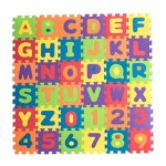 Teeny-Toyz-Large-Foam-Puzzle-Play-Mat-36-Tiles-Entire-Alphabet-Numbers-0-9-Pop-Out-NumbersLetters-on-Every-Tile-Inter-Locking-Pieces-with-Zippered-Carry-Bag-0