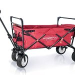 The-Best-Feature-Quality-NEW-4th-GENERATION-Collapsible-Folding-Wagon-with-Canopy-Padded-Bottom-Auto-Safety-Locks-Spring-Bounce-Brake-Stand-EVA-Wide-Tire-0-0