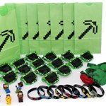 The-Ultimate-Party-Favors-for-Miner-Themed-Birthday-Party-8-Pack-of-Supplies-Fun-Party-Additions-Green-Pixelated-Glasses-Wristbands-Character-Toys-and-Balloons-will-make-the-Party-a-Success-0