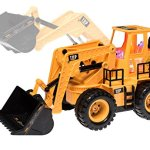 Top-Race-TR-113-5-Channel-Full-Functional-Front-Loader-Electric-RC-Remote-Control-Construction-Tractor-with-Lights-Sounds-0-0