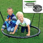 Tree-Net-Swing-Giant-40-Wide-Two-Person-Outdoor-Web-Rope-Swing-Set-Holds-Over-220-lbs-0-2