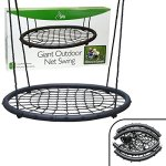 Tree-Net-Swing-Giant-40-Wide-Two-Person-Outdoor-Web-Rope-Swing-Set-Holds-Over-220-lbs-0