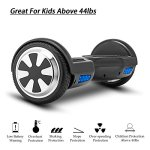 VEEKO-Hoverboard-UL2272-Certified-Electric-Smart-Self-Balancing-Scooter-with-LED-Lights-Power-Motor-65-TWO-Wheels-0-0