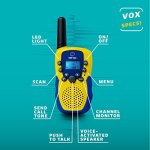 Walkie-Talkies-for-Kids-with-Kids-Binoculars-Set-Vox-Box-Voice-Activated-Kids-Walkie-Talkies-Long-Range-Radios-with-3-Mile-Range-and-6×21-Binoculars-for-Kids-with-Carry-Case-0-2
