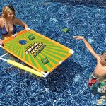 Water-Sports-Floating-Corn-Hole-Bean-Bag-Target-Toss-Swimming-Pool-Game-Use-In-or-Out-of-the-Pool-0