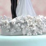 Wedding-Collectibles-Vintage-Rose-Pearl-and-Heart-Wedding-Cake-Topper-0-2