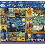 White-Mountain-Puzzles-Great-Painters-Collection-Vincent-Van-Gogh-1000-Piece-Jigsaw-Puzzle-0-0