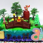 Winnie-the-Pooh-100-Acre-Woods-Birthday-Cake-Topper-Set-Featuring-Figures-and-Decorative-Accessories-0