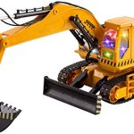 WolVol-11-Channel-Demo-Function-Big-Electric-RC-Remote-Control-Excavator-Construction-Truck-Toy-for-Kids-with-Lights-and-Sounds-Can-Turn-Off-Sounds-0-2