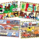 Wood-Chunky-Scene-Puzzles-For-Kids-Set-of-4-0