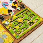 Wooden-Activity-Busy-Board-for-Girls-0-2