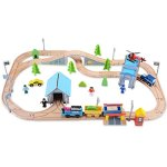 Wooden-Train-Track-Set-100-Compatible-with-Thomas-Brio-Chuggington80-pcs-Wooka-Toddler-Toys-for-kids-0-0