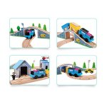 Wooden-Train-Track-Set-100-Compatible-with-Thomas-Brio-Chuggington80-pcs-Wooka-Toddler-Toys-for-kids-0-1