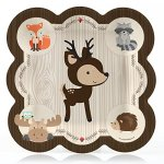 Woodland-Creatures-Baby-Shower-or-Birthday-Party-Tableware-Plates-Cups-Napkins-Bundle-for-16-0-0