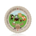 Woodland-Creatures-Baby-Shower-or-Birthday-Party-Tableware-Plates-Cups-Napkins-Bundle-for-32-0-2