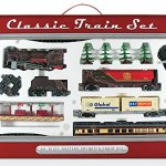 WowToyz-Classic-Train-Classic-Train-Set-40-Piece-with-Steam-Engine-0