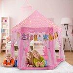 Yoobe-Hexagon-Princess-Castle-Play-Tent-Indoor-for-Kids-Gift-0-1