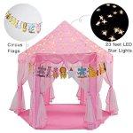 Yoobe-Hexagon-Princess-Castle-Play-Tent-Indoor-for-Kids-Gift-0-2