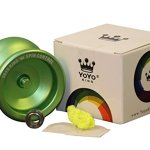 Yoyo-King-Green-Spin-Control-Metal-Yoyo-with-Narrow-Responsive-and-Wide-Nonresponsive-C-Bearing-and-Extra-Yoyo-String-0-0