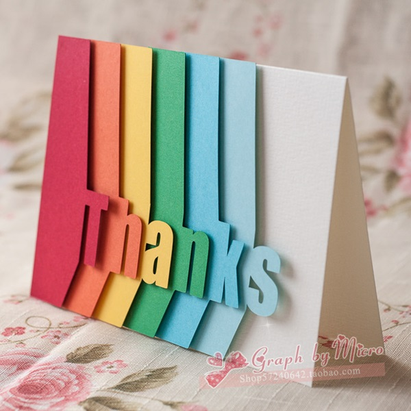 Perhaps you type up all of your letters in word. 35 Handmade Greeting Card ideas to try this Year