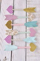 Paper Straw Arrows of Love