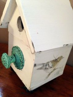 updated-birdhouse-chalk-paint-crafts-outdoor-living