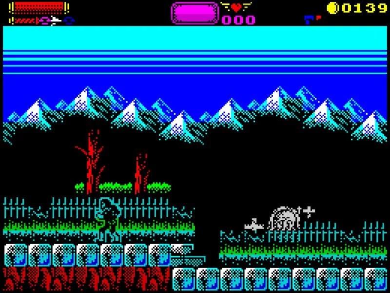 138443 castlevania spectral interlude screenshot Castelvania Spectral Interlude · ZX Spectrum