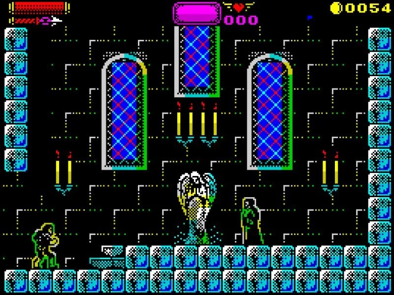 138447 castlevania spectral interlude screenshot Castelvania Spectral Interlude · ZX Spectrum