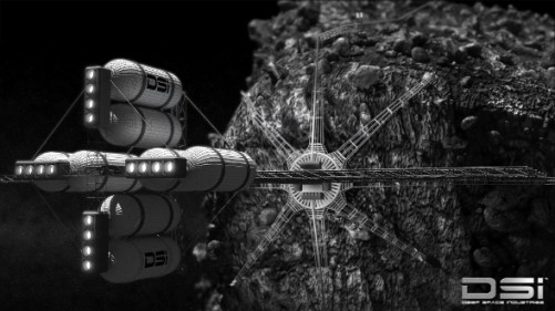 DSI Asteroid Harvester