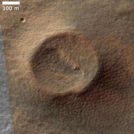 Eridania crater