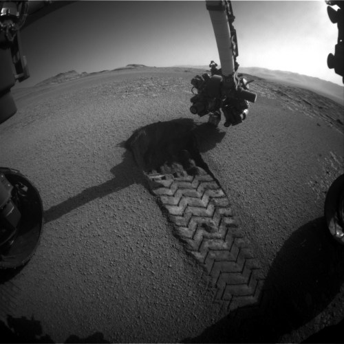 Curiosity Front Hazard Avoidance-Camera-Left-B-Sol-2557-October-16-2019
