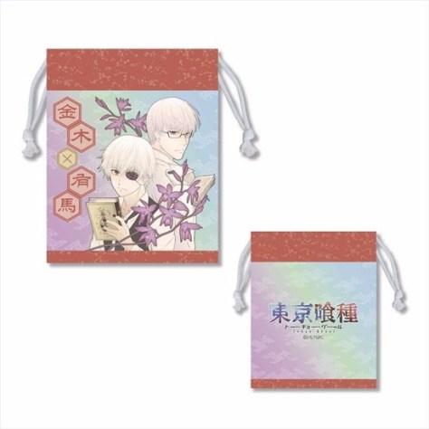 東京喰種トーキョーグール 巾着 A アニメ・キャラクターグッズ新作情報・予約開始速報