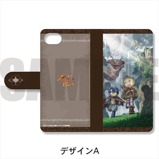 メイドインアビス 手帳型スマホケース iPhone5/5 アニメ・キャラクターグッズ新作情報・予約開始速報