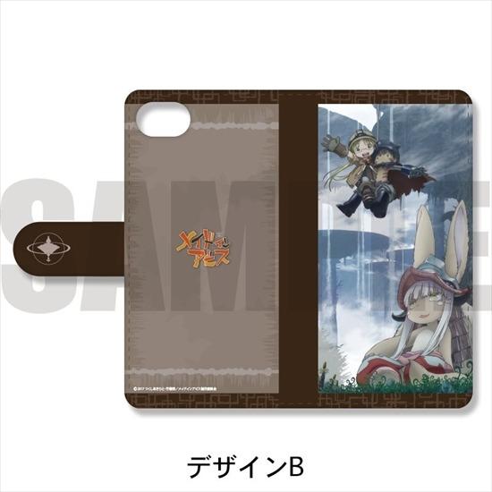 メイドインアビス 手帳型スマホケース iPhone6Pl アニメ・キャラクターグッズ新作情報・予約開始速報