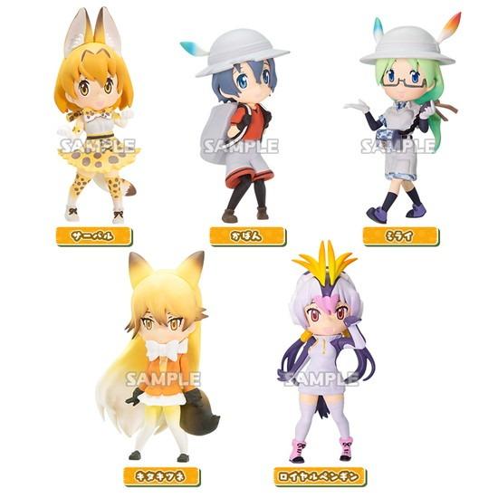 けものフレンズ コレクションフィギュア 6個入り アニメ・キャラクターグッズ新作情報・予約開始速報