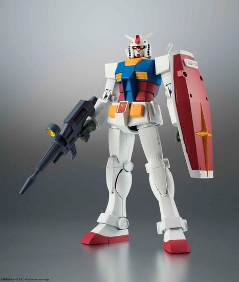 ROBOT魂 SIDE MS RX-78-2 ガンダム ver. A.N.I.M アニメ・キャラクターグッズ新作情報・予約開始速報