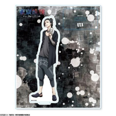 東京喰種 トーキョーグール アクリルスタンド ウタ アニメ・キャラクターグッズ新作情報・予約開始速報