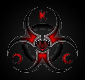 biohazard logo chemical branding corporate identity evil dark cool amazing excellent satanic i-theist nietzsche ragnar saxon jewellery