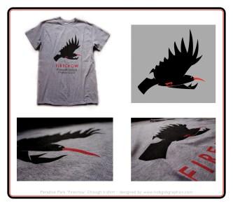 Paradise Park 'Firecrow' Chough T-Shirts