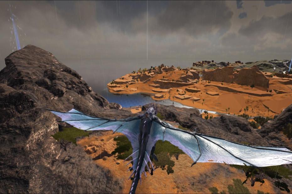 ark survival evolved uçan dinozor