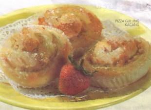 Resep Pizza Gulung Kacang