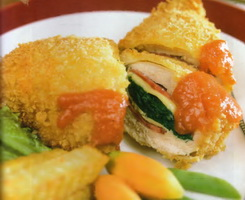 Resep Chicken Cordon Bleu