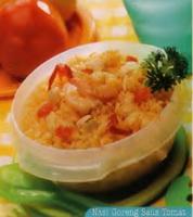 Resep Nasi Goreng Saus Tomat