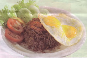 Resep Nasi Goreng Rendang Seafood